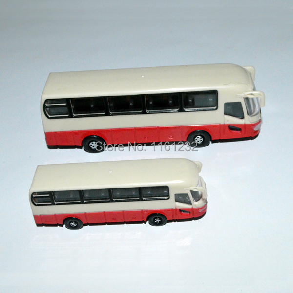 1/100 scale architecture school bus toy model bus car for ho scale train design layout(China (Mainland))