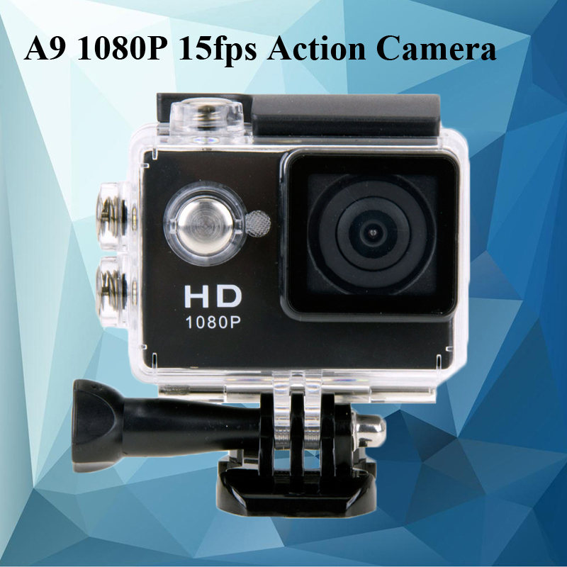 SJ4000 Gopro Style Sports DV 2 Inch Screen A9 Action Camera 1080P HD 30M Waterproof Car Camera DVR Digital Camcorder<br><br>Aliexpress