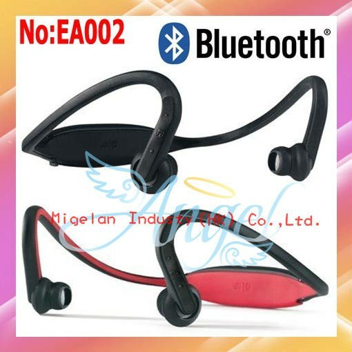 Wholesale S9 Wireless Earphone Headset | Stereo Bluetooth Headset For Music phone or iPod | Free shipping By FedEx #EA002