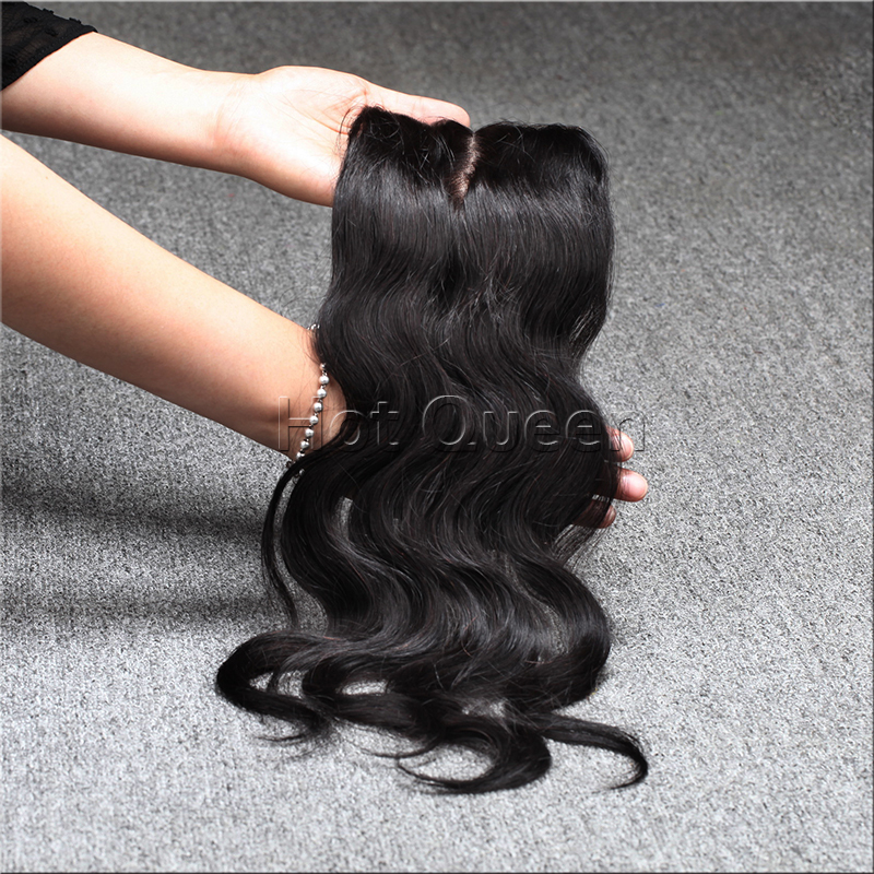 malaysian virgin hair 4*4 body wave Lace Closure with bundles Hair Middle part  100% human hair natural hair extensions<br><br>Aliexpress
