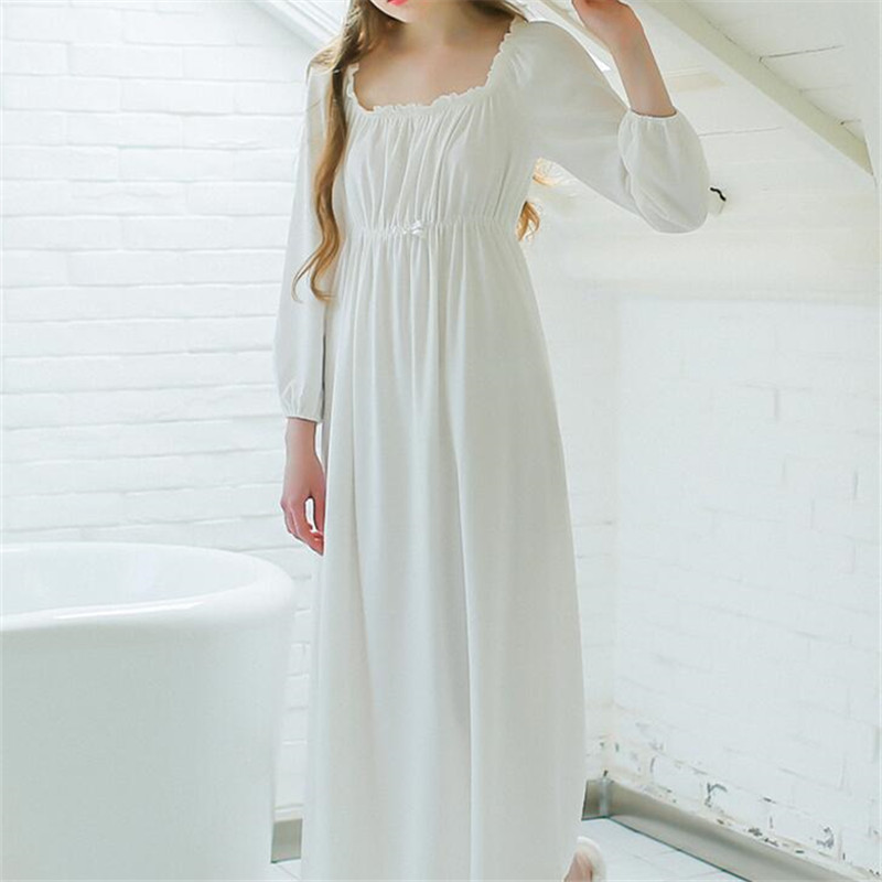Compare Prices on White Cotton Nightgowns for Women- Online ...