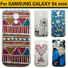 JUECHEN For Samsung Galaxy S4 mini i9190 i9195 i9192 Case Cute Cartoon UV Print Hard Cover Case For Samsung Galaxy S4 mini Case(China (Mainland))