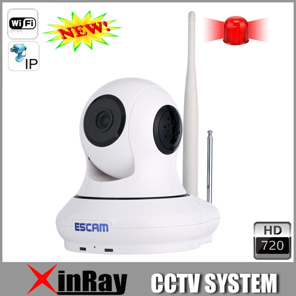 High Accuracy QF 500 Wifi IP Camera with Various RF433 Support Multi Platform IOS Android OS Wireless Alarm Fashion Design(China (Mainland))