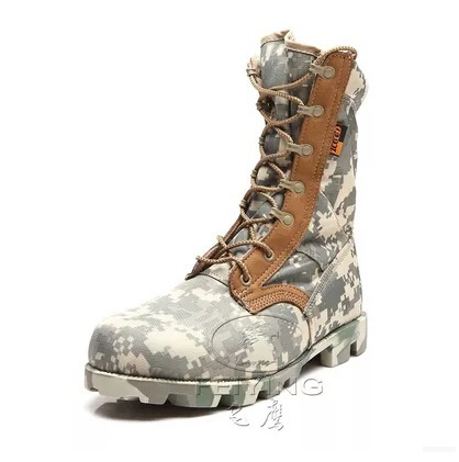 Outdoor Acu Camouflage Non slip resistant boots army fan Locomotive desert combat male hiking Explore tactical