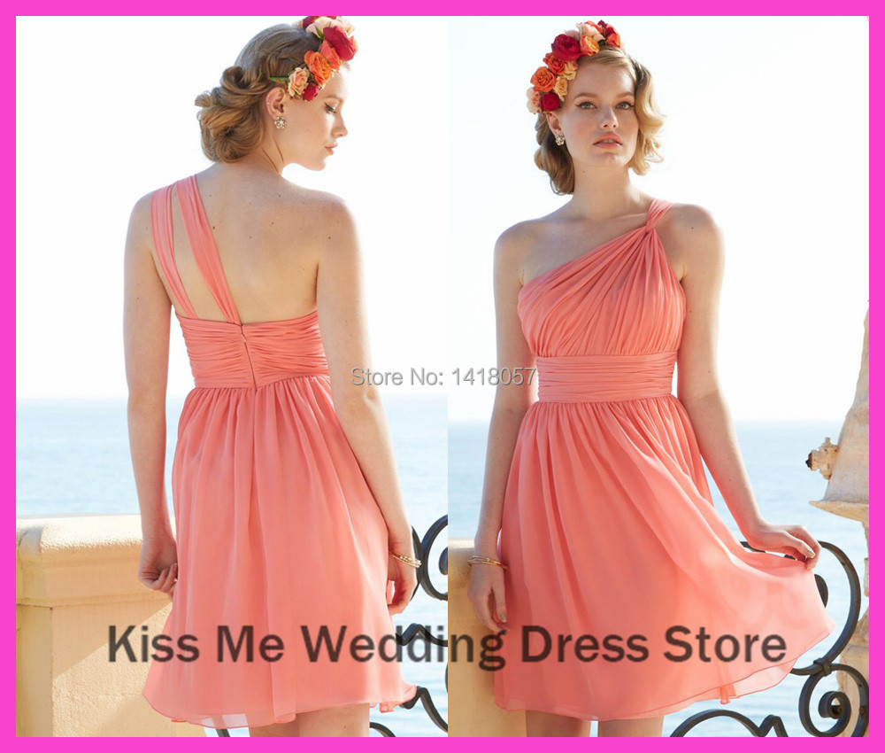 Online Buy Wholesale peach coral dress for bridesmaid from China ...