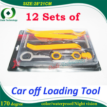 Car audio systems, navigation systems, radio player, interior door panel of the instrument, 12 sets of off loaded tool.(China (Mainland))