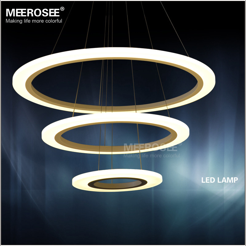 New Arrival Modern LED Chandelier Light / Lamp / Lighting Fixture LED Circle Ring Chandelier Lustres SMD3014 LED MD5057 Dia 80cm(China (Mainland))