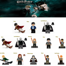 Single Harry Potter Hermione Ron Lord Voldemort Draco Malfoy Building Blocks Sets Models Toys For Children(China (Mainland))
