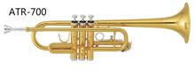 Brass wind instrument with C trumpet ATR-700(China (Mainland))