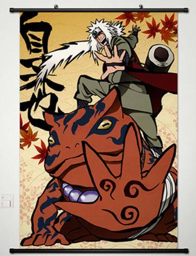Jiraiya affiche promotion achetez des jiraiya affiche for Decoration murale naruto