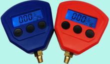 A pair Ceramic Silicon Diaphragm Automotive Air Conditioning Refrigerant Digital LCD Display Pressure Gauge(China (Mainland))