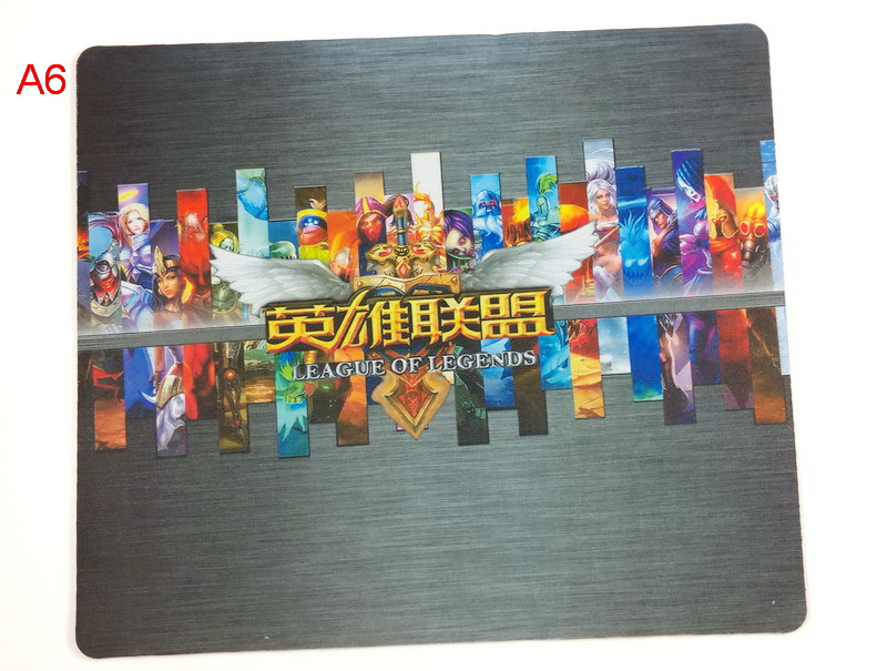 Brand Heated Game Gaming Mause Mouse Pad OEM anime Speed Control version Gaming Mice Pad For Computer Dota 2 CF LOL(China (Mainland))