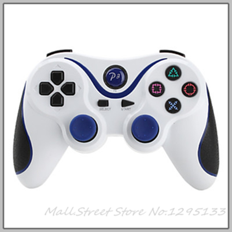 2pcs/lot Wireless Bluetooth SIXAXIS Game Controller for PS3 - M.S.000005(China (Mainland))