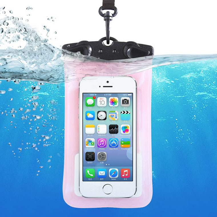 wholesale for iphone 6 6s 6plue,for Samsung s5 s6 note Tteoobl Smart phone waterproof bag for below 6.0 inch Phone by DHL free(China (Mainland))