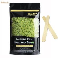 Buy Hair Removal Wax Beans New Strip Depilatory Hot Film Hard Wax Beans Pellet Waxing Bikini Hair Removal 250G Green Tea Flavor for $9.77 in AliExpress store