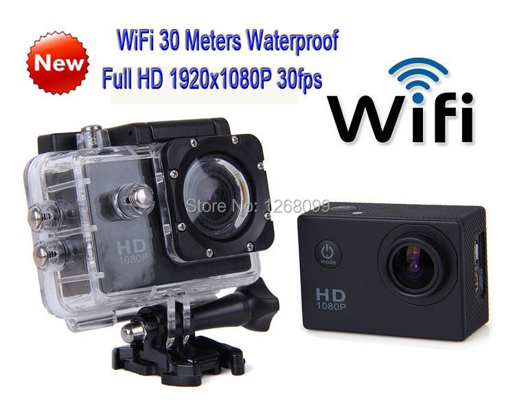 2016 New WiFi Waterproof Full HD Extreme 1920x1080P Camera Digital Video Camcorder Free shipping(China (Mainland))