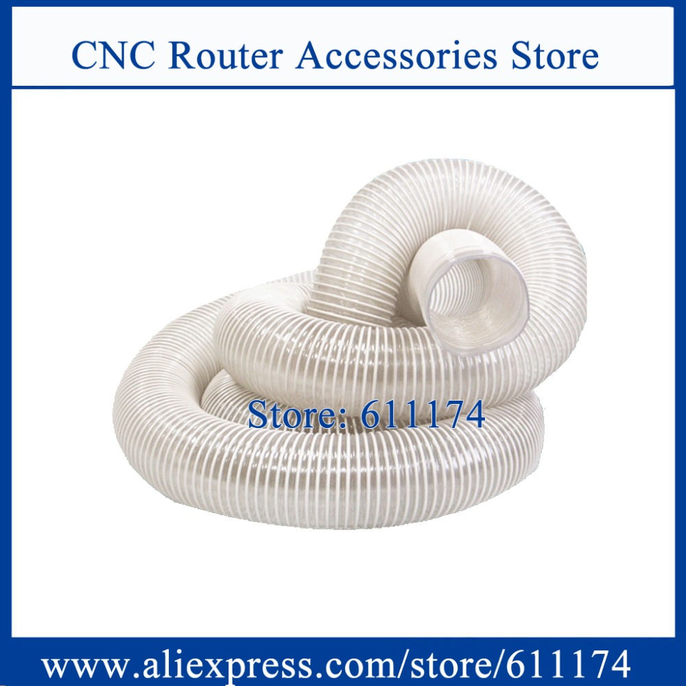 CNC Router Accessories D100mm Dust collector pipe size length 6000mm one piece(China (Mainland))