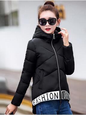 Скидки на Новый Зимняя Мода Женщины Вниз куртка С Капюшоном Утолщаются Супер теплый С Длинным рукавом Нерегулярные Пальто Досуг Сыпучих Большие ярдов Парки NZ257