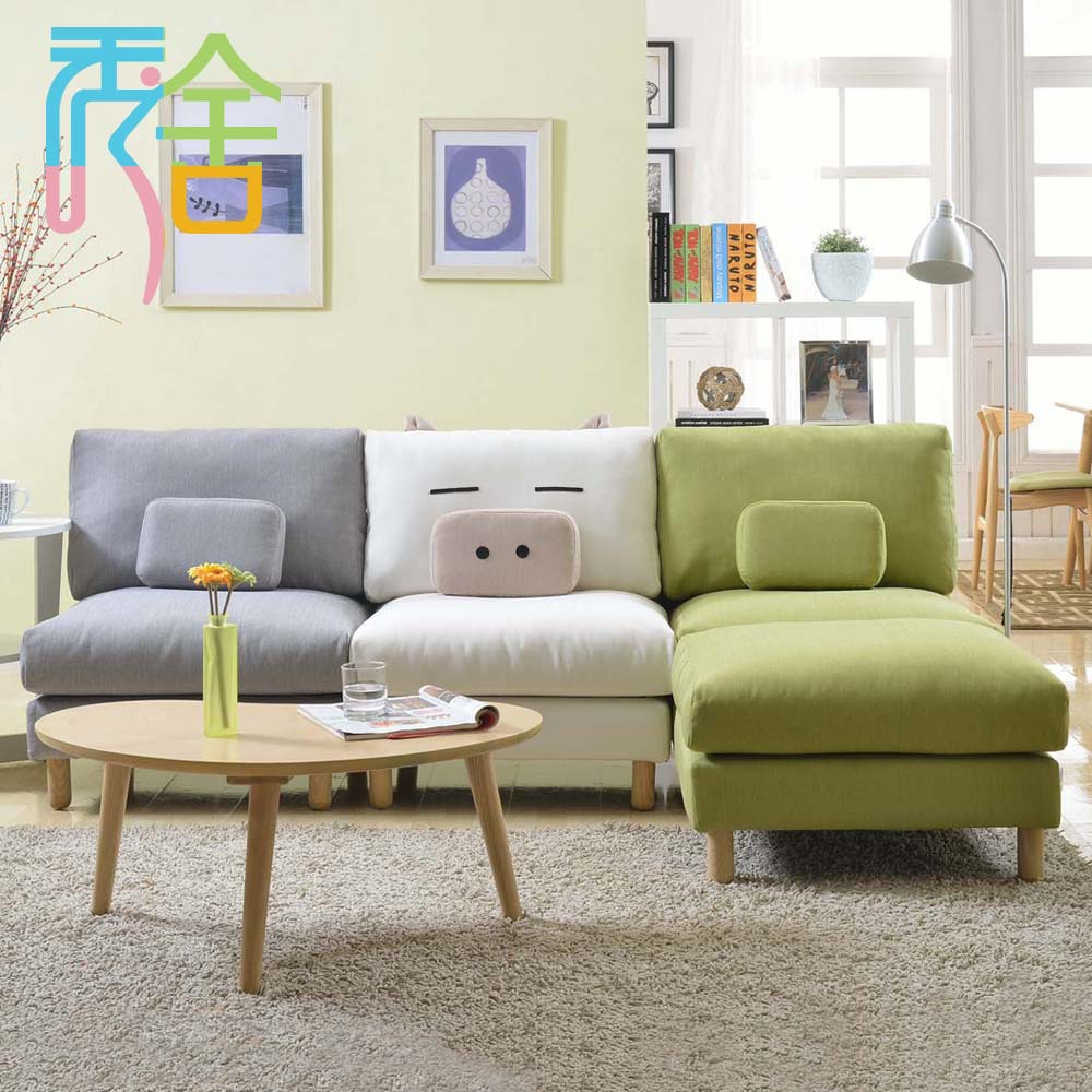 show homes sofa korean small apartment around the corner