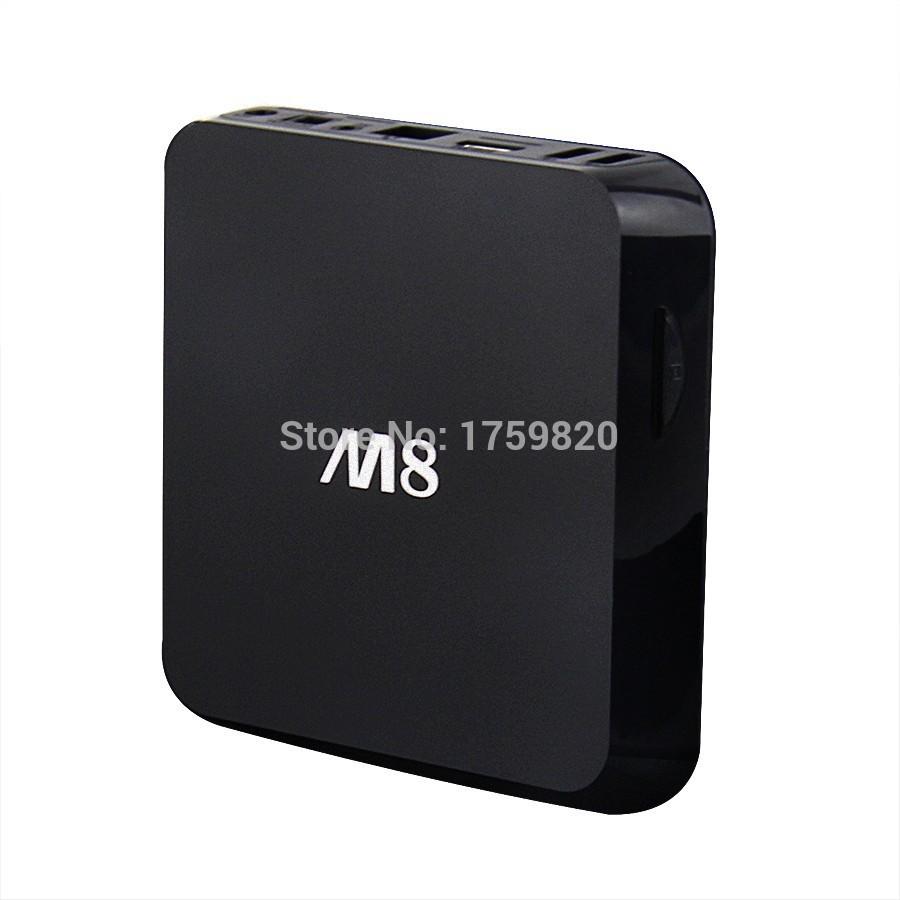 Hot sale ! original M8 Amlogic S802 Quad Core 2GB/8GB Android TV Box Kitkat 4.4 Smart TV Wifi Media Player With Remote Control(China (Mainland))