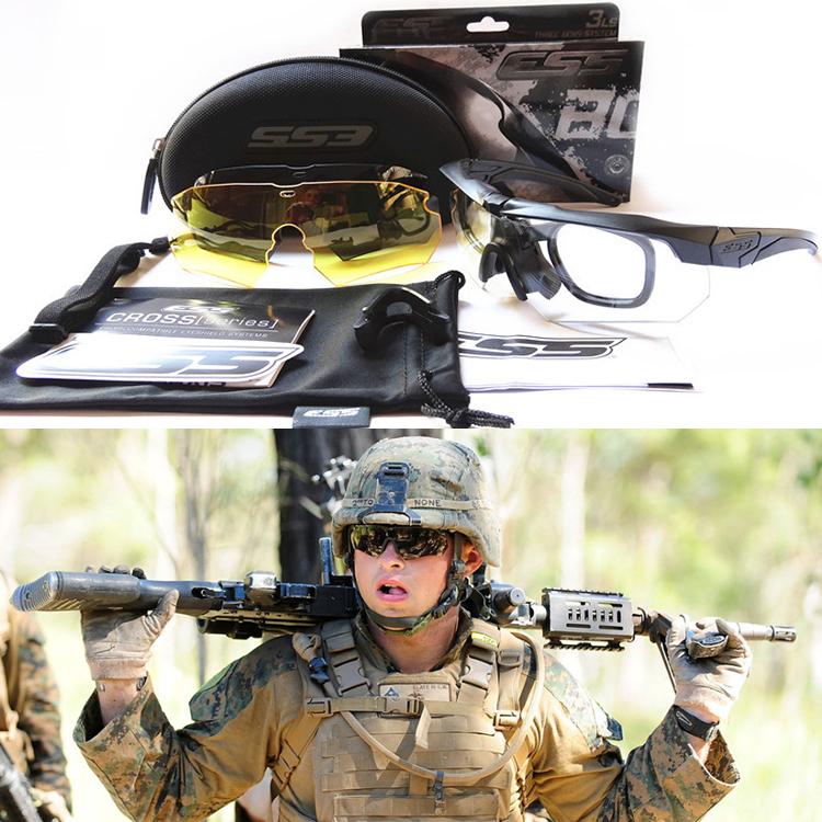 Ess Crossbow Military Mens Sunglasses Tactic Goggles