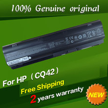 100% Genuine original Laptop Batteries for HP Pavilion G4 G6 G7 CQ42 CQ32 G42 CQ43 G32 DV6 DM4 430 Batteries 593553-001 MU06