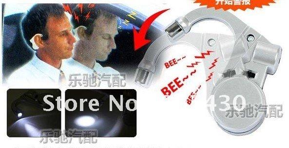 free shipping Anti Sleep Driving Alarm Wake-Up Alarmer driver Road Safety Warner with LED light(China (Mainland))