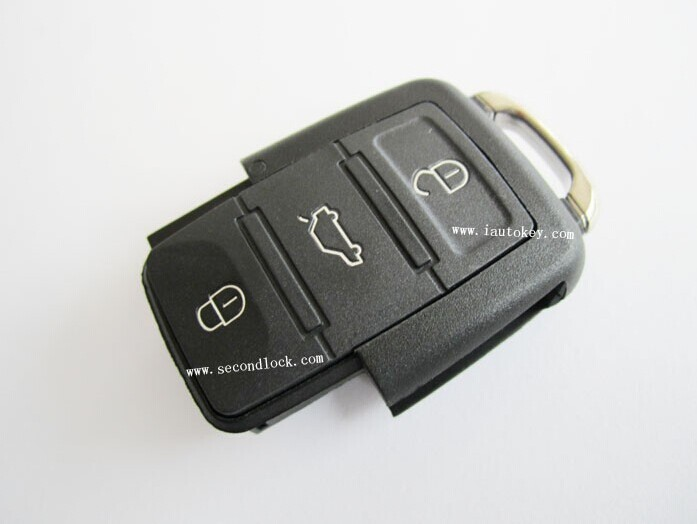 10pcs/lot Remote Control 315MHZ:1K0 959 753 J for Volkswagen(China (Mainland))