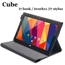 Original For Cube i7 book/i7 Stylus/iwork11 Case Protective Flip PU Leather Case For Cube i7 Book / i7 Stylus Tablet pc