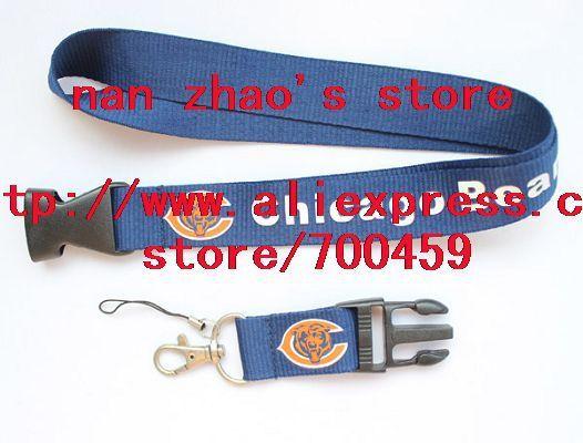 Hot 10pcs  FOOTBALL Logo Lanyard/ MP3/4 cell phone/ keychains /Neck Strap Lanyard WHOLESALE