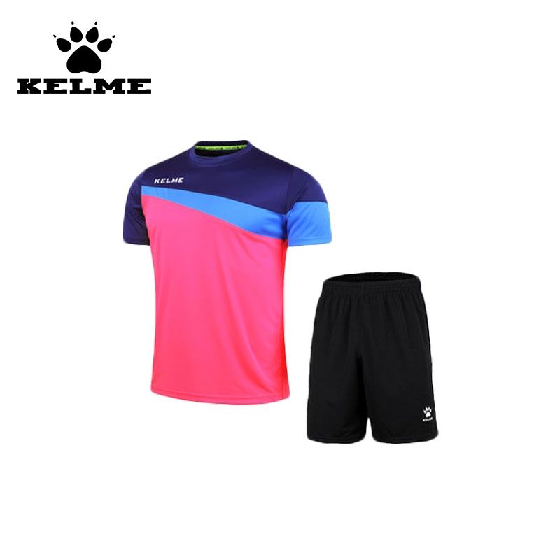 KELME Official Authentic Spain Mens Football Shirt Short Sleeve Soccer Jerseys Survetement futebol Customized Football Shirt 08(China (Mainland))
