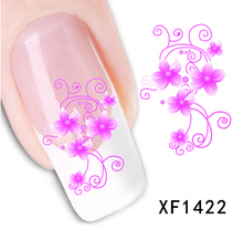 2015 New Hot Sale Watermark nail stickers nail sticker decals 3D Design nail decoration tools Water transfer styles Low price(China (Mainland))