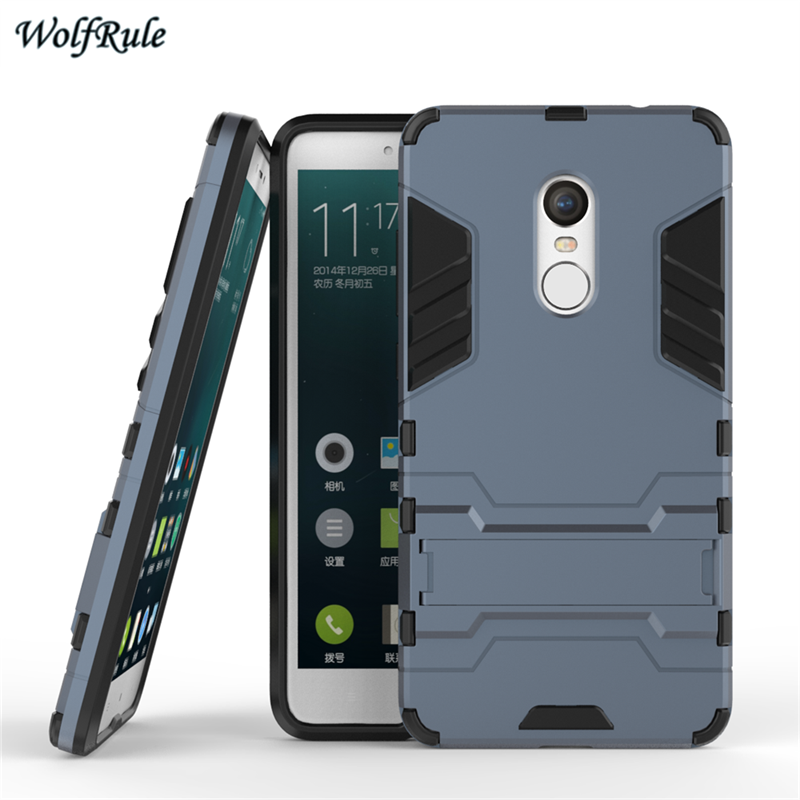 Case Xiaomi Redmi Note 4 Cover Shockproof Armor TPU & PC Stand Xiaomi Redmi Note 4 Case redmi Note 4 Pro Phone Stand