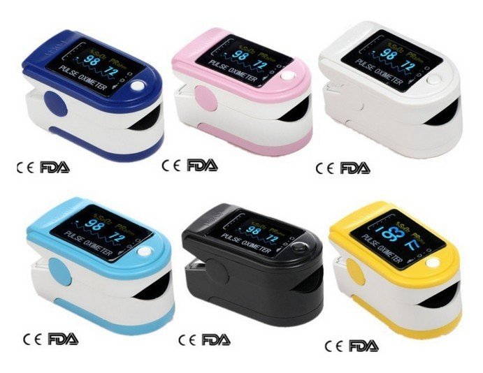 Fingertip Pulse Oximeter , OLED color display Spo2 Test Monitor 6 colors you, CMS-50D - Care Share Medical Co.,Limited store