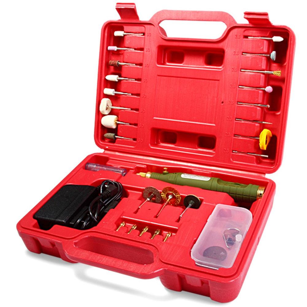 Variable Speed wood Dremel Rotary Tool Mini Drill electric mini grinder Screw driver polisher Set EU US Plug(China (Mainland))