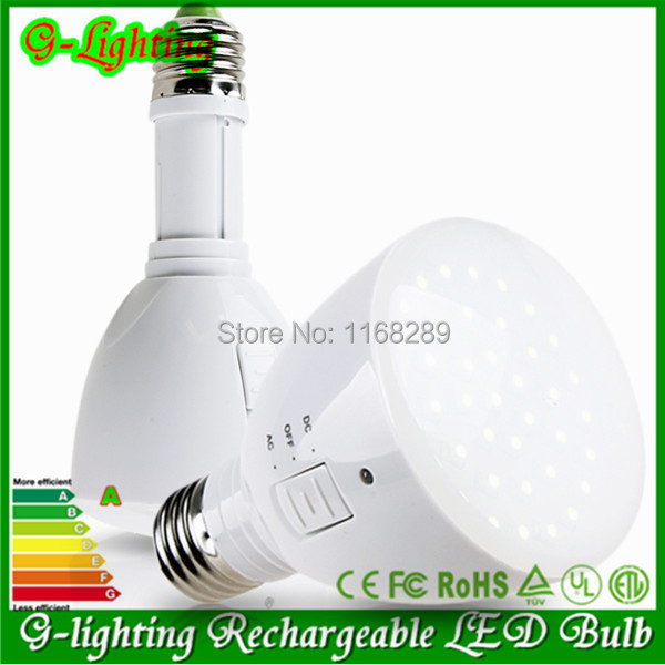High quality remote led bulb lamp E27 rechargeable LED bulb lamp light torch flashlight 4W-5W e27 led emergency bulb 100-245V(China (Mainland))