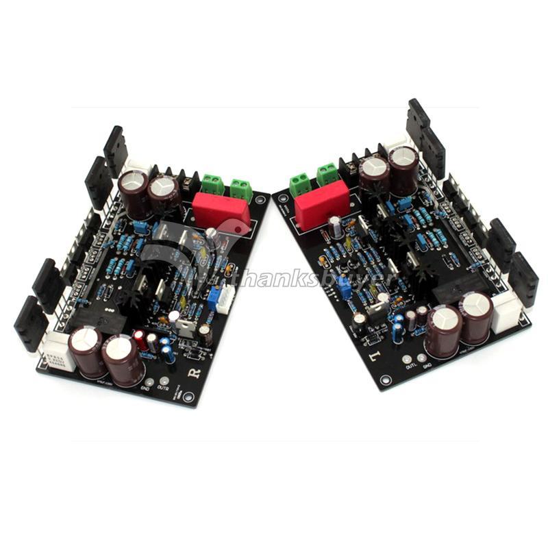 DARTZEEL DC 35V 55V 470UF/100V 200W+200W Superpower Amplifier Board A Pair(China (Mainland))