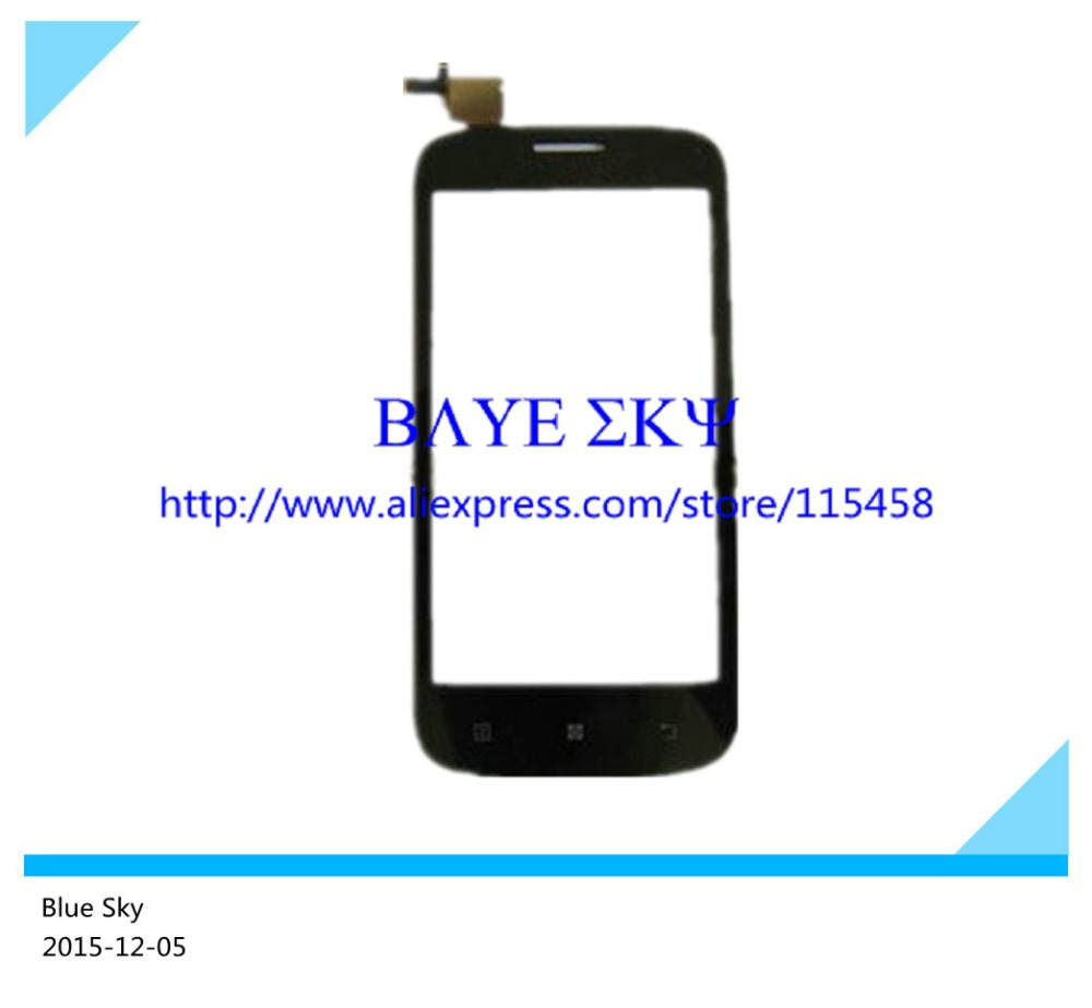 """20 Pcs/lot 4.5"""" inch For Lenovo A760 digitizer touch screen touch panel screen black or white color free shipping by DHL(China (Mainland))"""