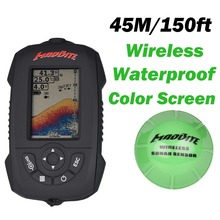 2016 Russian MadBite Wireless Sonar Fish Finder River Lake Sea Bed Live Depth New Contour 150ft / 45M Fishfinder Fishing Finder(United States)