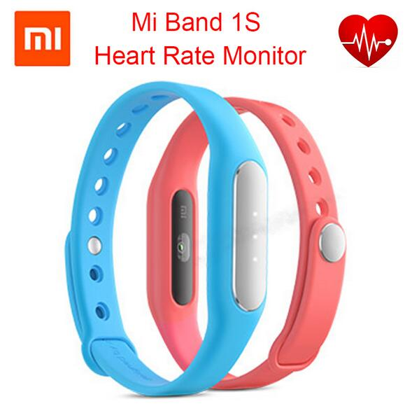 Original Xiaomi Mi Band 1S 1 S Pulse Smart Bracelet Xiaomi MiBand 1S Heart Rate Monitor Bluetooth IP67 Waterproof Wristband<br><br>Aliexpress