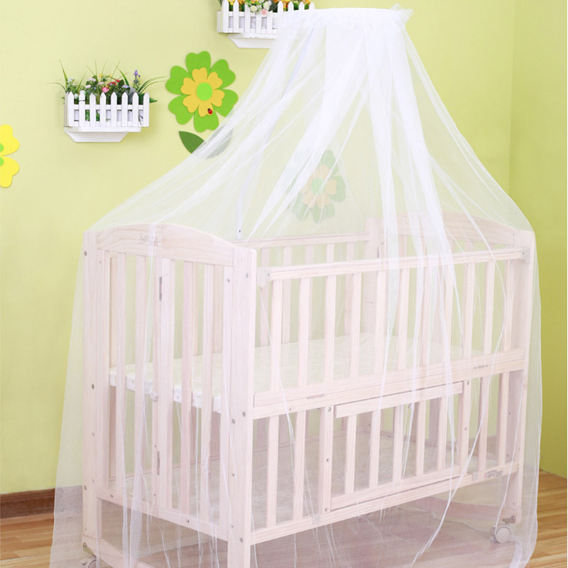 Summer mosquito net baby bed cradle net toddler infant bed tents princess mosquito mesh for infant portable crib(China (Mainland))