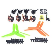 F12065-M Helicopter Kit KV2300 Brushless Motor+12A ESC+Straight Pin Flight Control+FC6x4.5 Propeller for 250 Helicopter(China (Mainland))