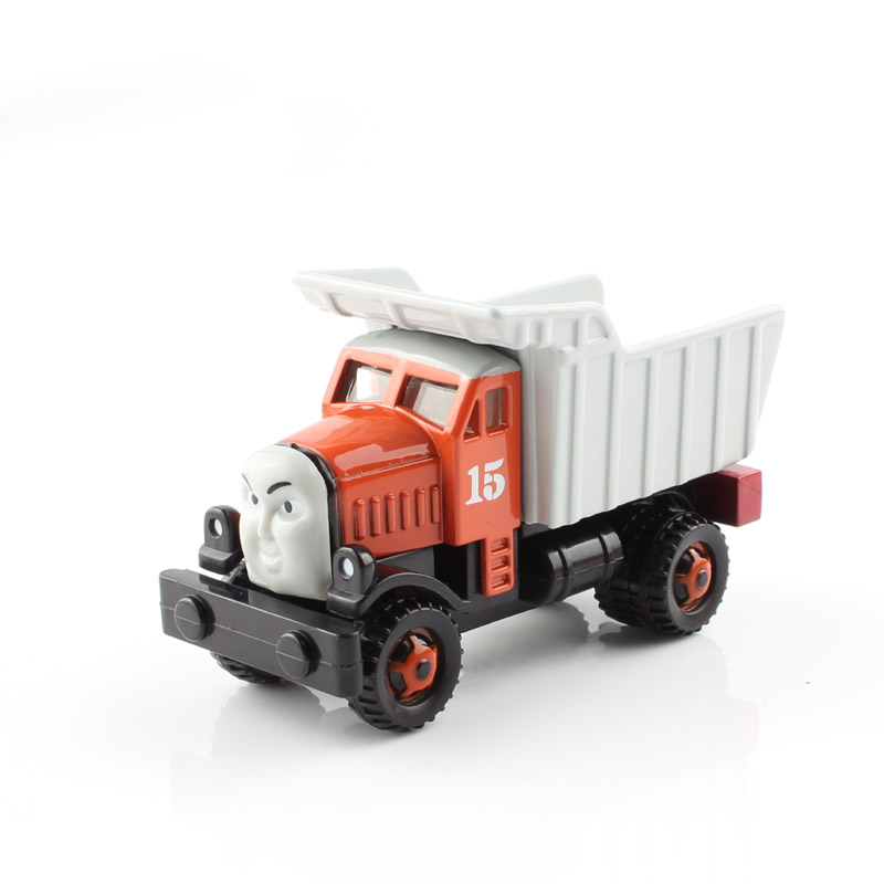 Max Thomas and friends trains the tank engine tram railway metal dump trucks tracteur tomas die cast models boys toys for kids(China (Mainland))
