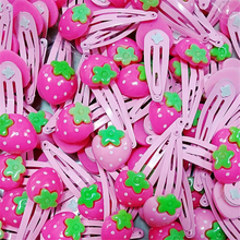Baby Hair Clips Cute Flowers Factory Supply Solid Cartoon Handmade Resin Flower For Children Girls Kids Accessories(10pcs/lot )