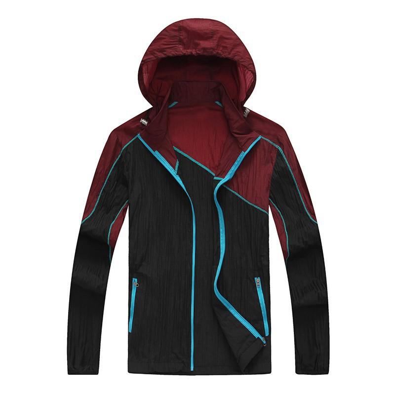 Cycling jacket Outdoor Windproof UV Protection Coat Clothing Jersey Men Hiking Windbreak Sportwear Jacket Running Clothes(China (Mainland))