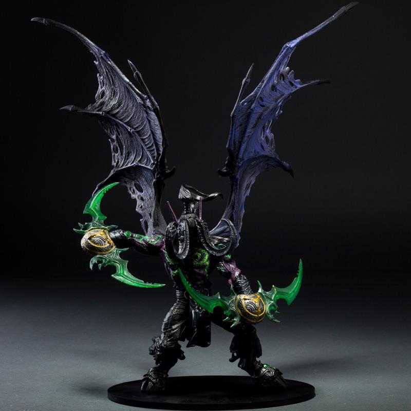 Wow Demon Hunter Действие Рис DC Неограниченное Серии 5 13 дюймовый Делюкс Штучной Упаковке Демон иллидан