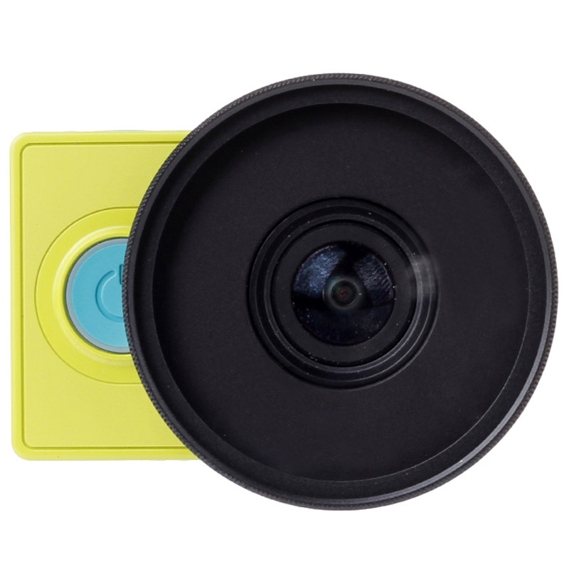 Гаджет  New Accessory 52mm UV Filter Lens Kit with Cap Protector for Xiaomi Xiaoyi Yi Action Sport Camera None Бытовая электроника