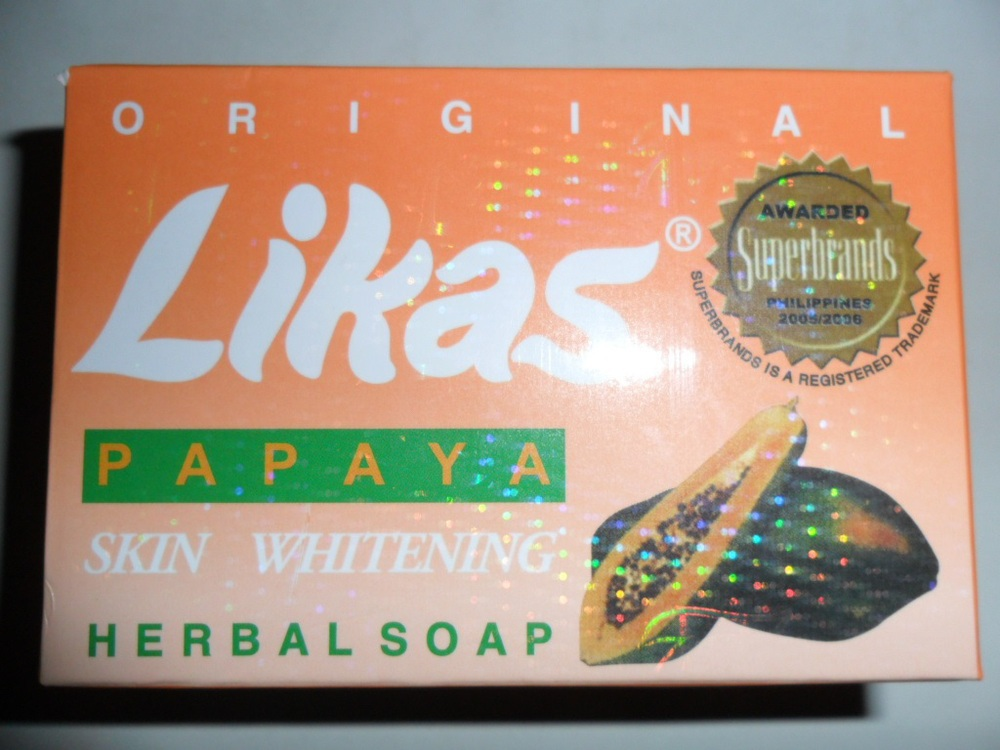 Hot Selling Likas Brand Original Papaya Soap for Skin Whitening Lightening Moisturizer Soap 135g/pc for Body or Face Cleanser(China (Mainland))