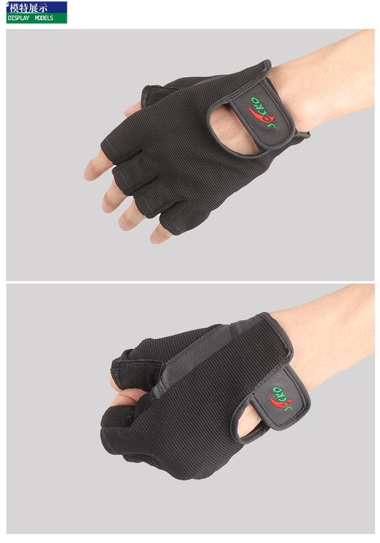 Free Shipping Weight Lifting Gym Gloves Training Fitness Workout Wrist Wrap Exercise Glove