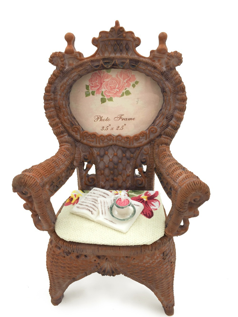 JSAron Decorative Resin Retro Photo Frames Chair Style for Special occasion Memory(China (Mainland))